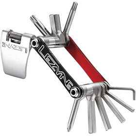 Lezyne V-7 Multitool, red/black